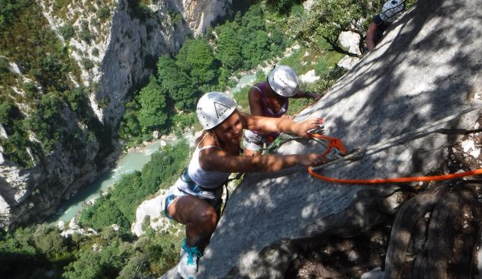 Via ferrata Castellane